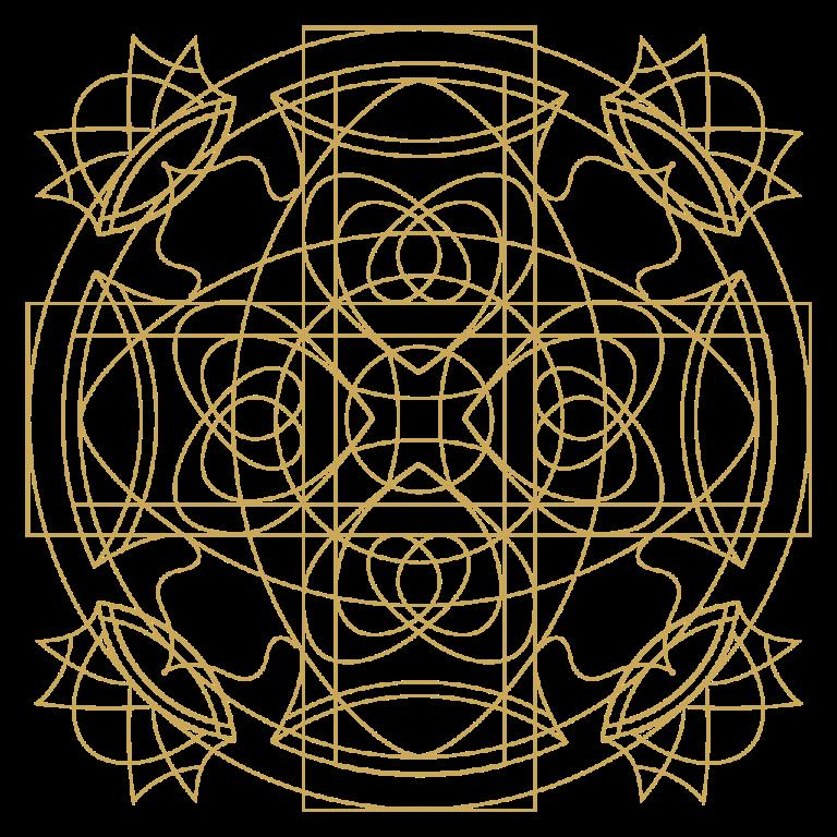 Energie-Mandala von Elke Fuchs